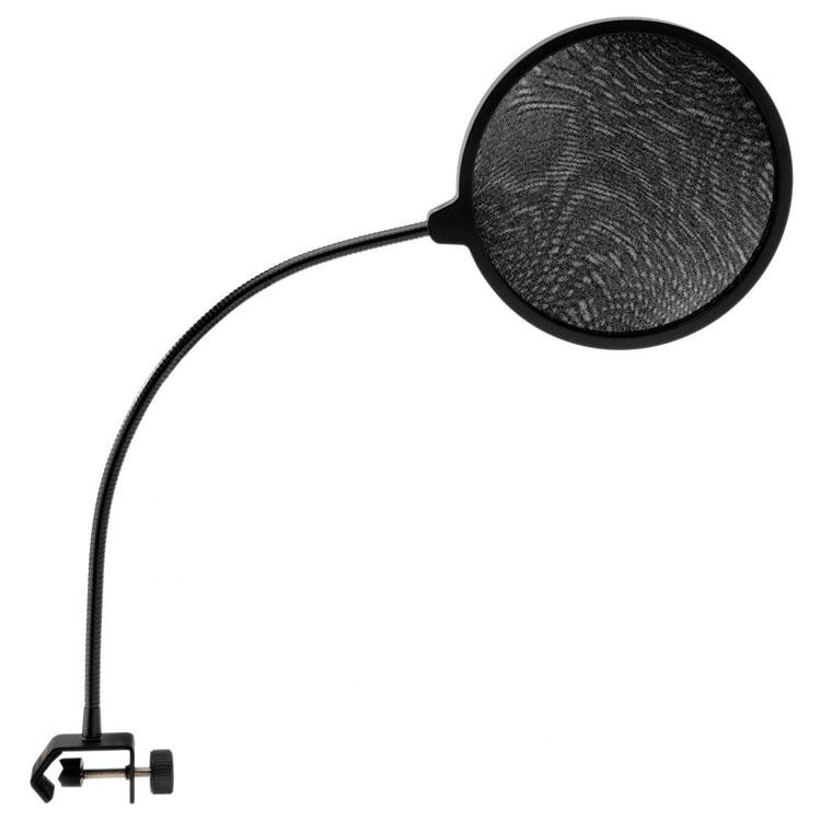 Pop Filter Studio Microphone Round Shape Wind Screen Mask Shield